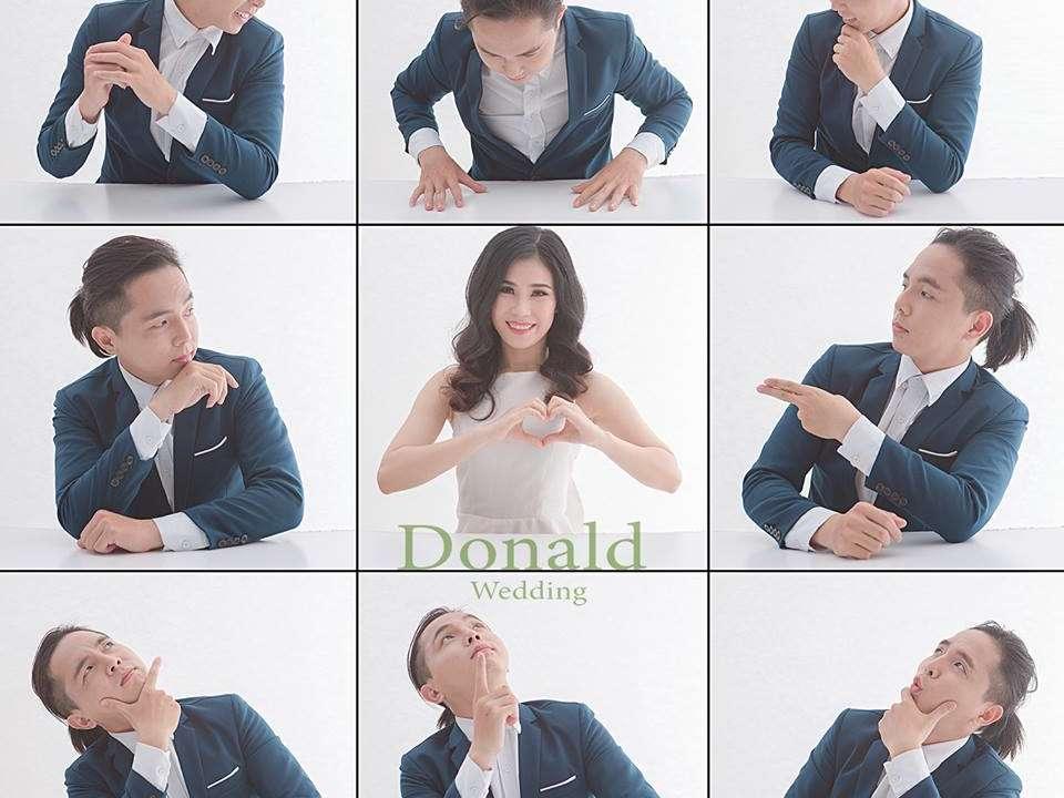 Ảnh cưới phong cách Hàn Quốc tại Donald studio