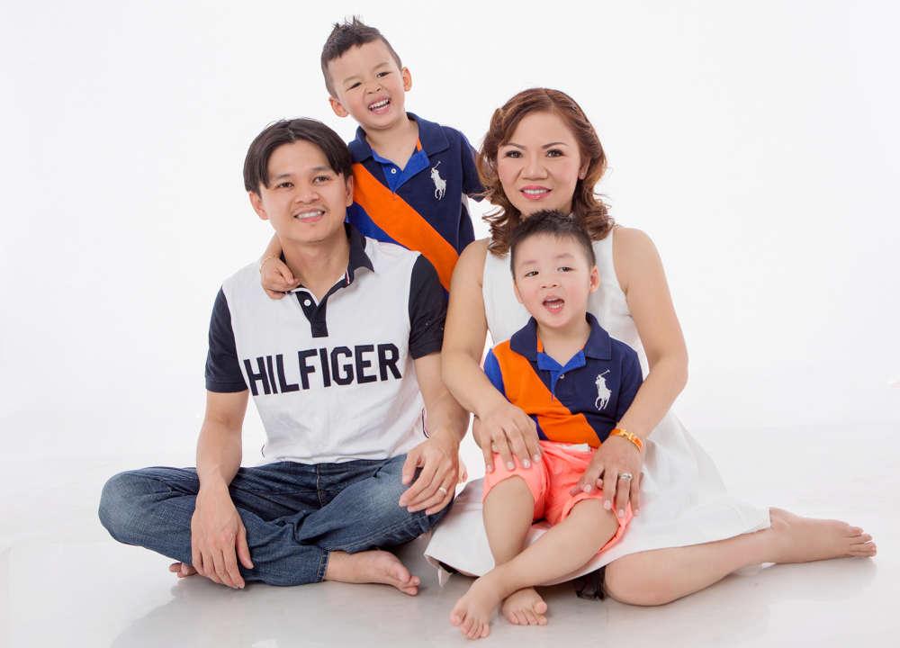 Chụp ảnh gia đình giá rẻ tại quận 11