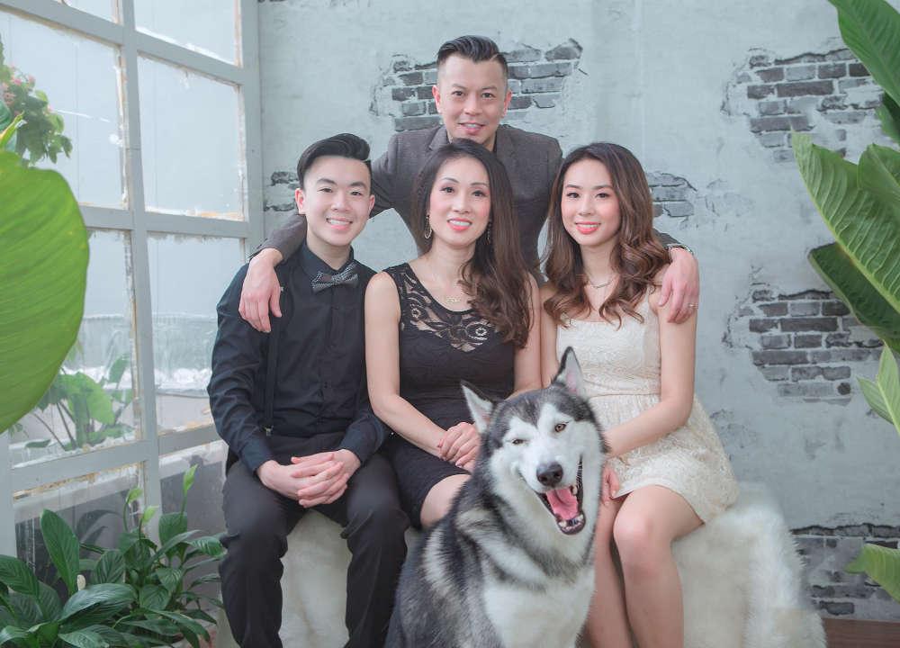 Chụp ảnh tết cho gia đình Jenny tại Donald studio