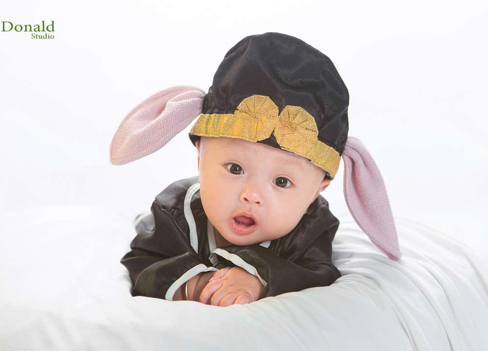 Chụp hình cho bé độc đáo